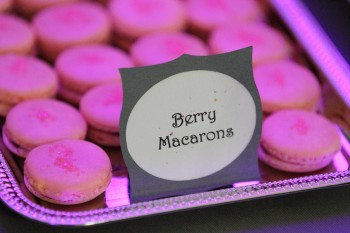 Hey Sweets Macarons at the Snohomish Wedding Guild January Meeting at Swans Trail Farms