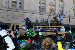 Special Teams - Seattle Seahawks Super Bowl Victory Parade in Seattle, WA - February 2014