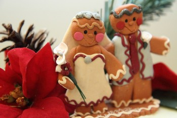 gingerbread cake topper