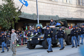 Blitz - Seattle Seahawks Super Bowl Victory Parade in Seattle, WA - February 2014