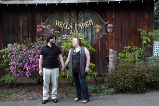 Engagement Session at Country Village in Bothell